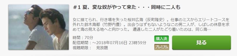ビーチボーイズ ドラマ 第1話