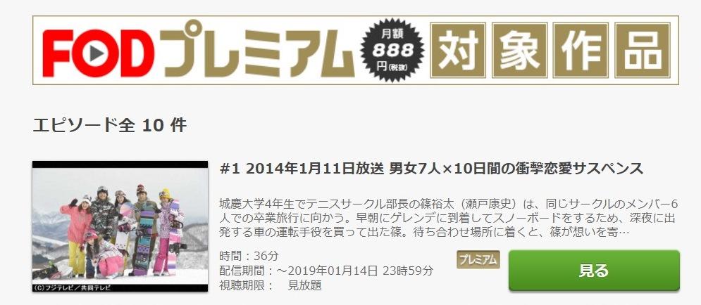 ロストデイズ ドラマ 第1話