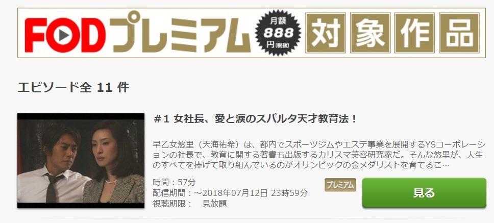 GOLD ドラマ 第1話