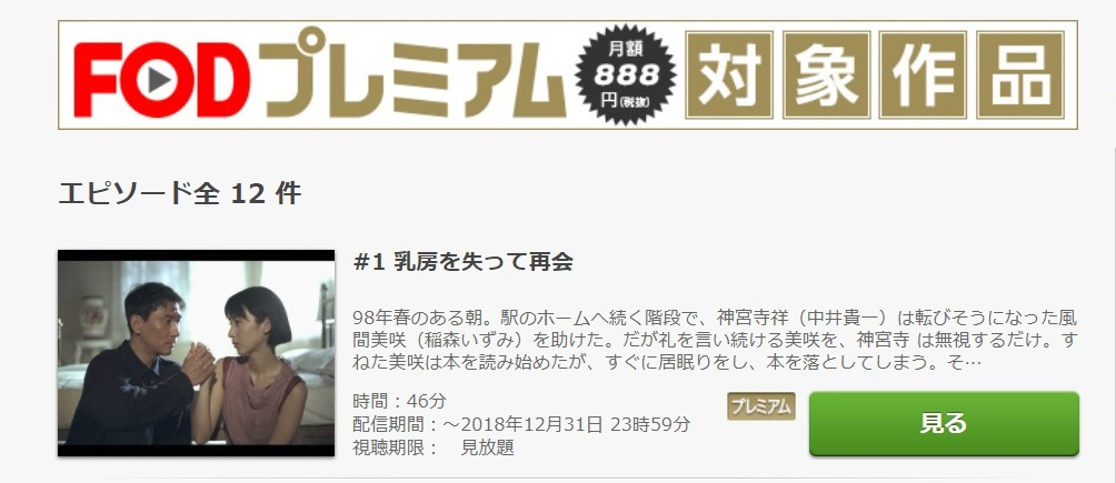 セミダブル ドラマ 第1話