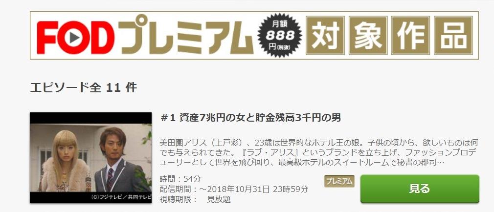 セレブと貧乏太郎 ドラマ 第1話
