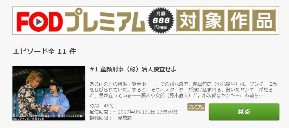 シバトラ ドラマ 第1話