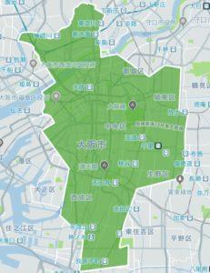 ウーバーイーツ 大阪